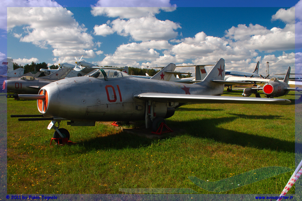 Monino, müze. Rusya Federasyonu Hava Kuvvetleri Merkez Müzesi 52